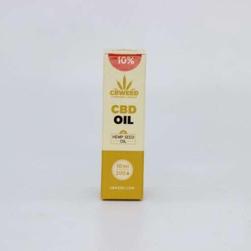 Olio al CBD 10% con olio di canapa