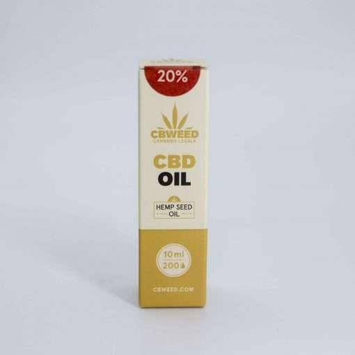 Olio aromatico al CBD 20% con olio di canapa