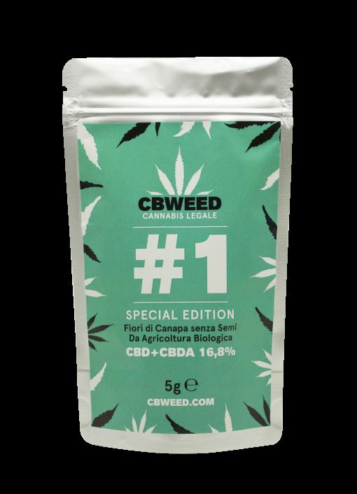 Cannabis Light Cbweed CB#01 5g