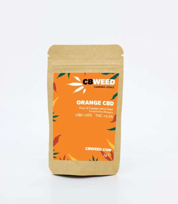 Cannabis Light Cbweed Orange CBD 2g