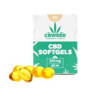 Capsule Softgel con Olio aromatico al CBD 4%