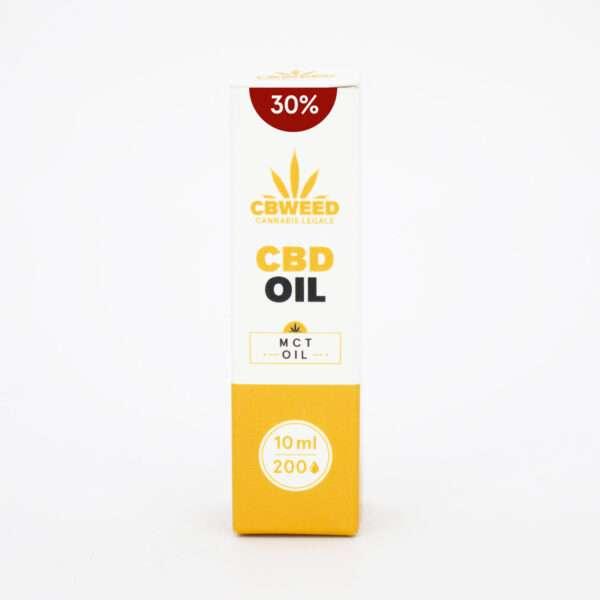 Olio MCT al CBD 30% con olio di cocco