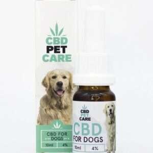 Olio aromatico per Cani con CBD 4%