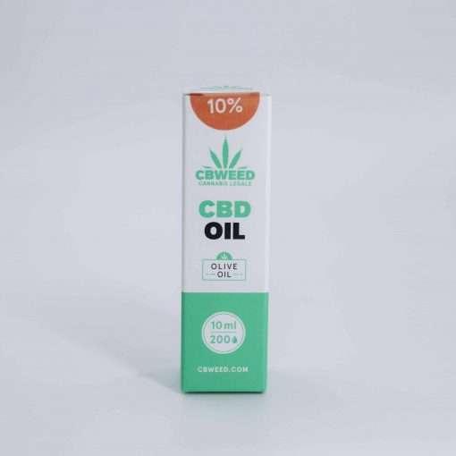 Olio al CBD 10% con olio di oliva