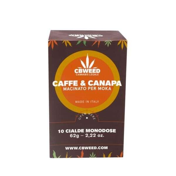 Caffè alla canapa Cbweed-10 cialde monodose
