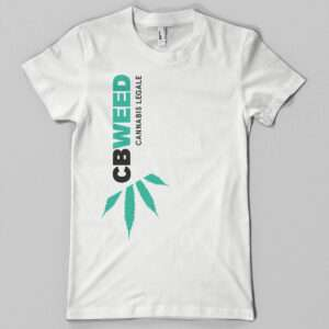 T-shirt CbWeed Donna