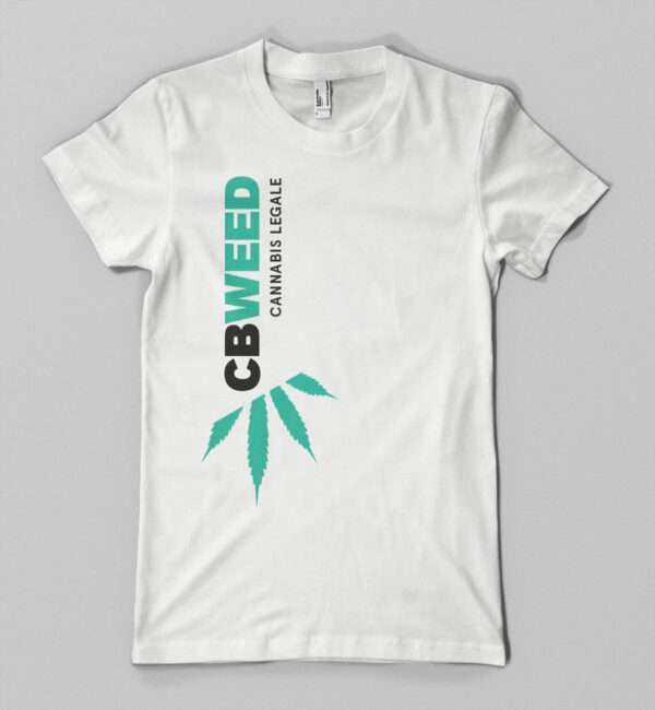 T-shirt CbWeed Donna